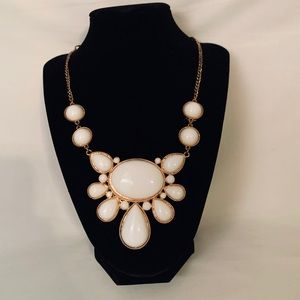 Off White Statement Necklace